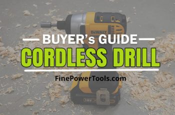 Cordless Drill Guide