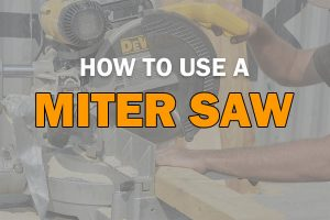 Miter Saw Uses
