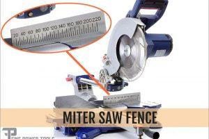 Miter Saw Fence