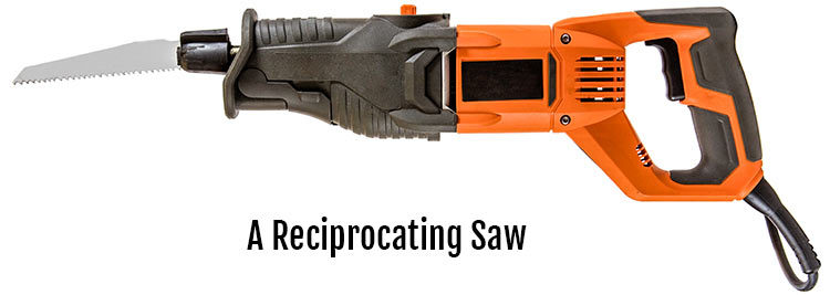 Reciprocating saw with Blade