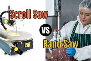 Scroll Saw vs Band Saw differences