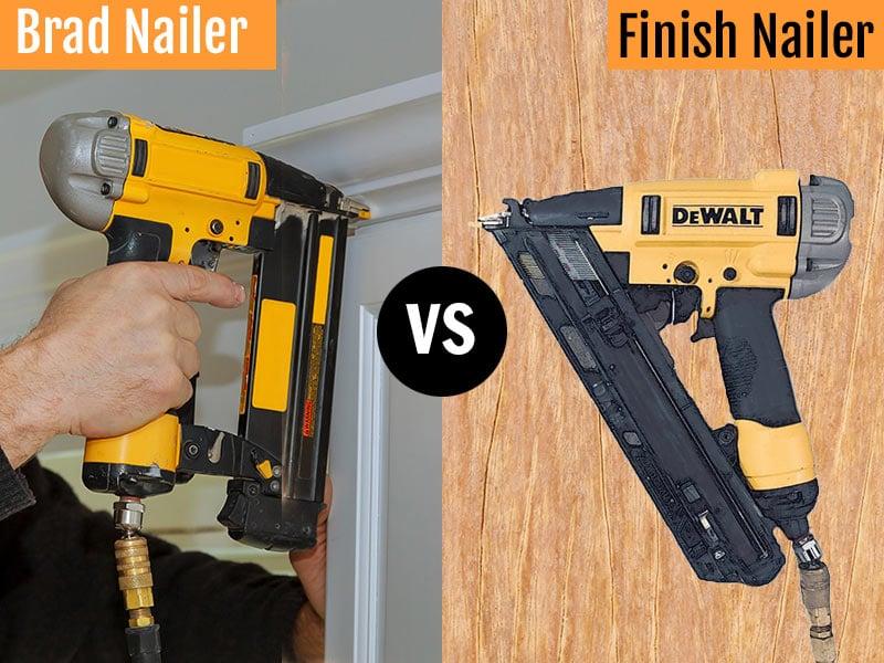 Brad vs Finish Nail Gun