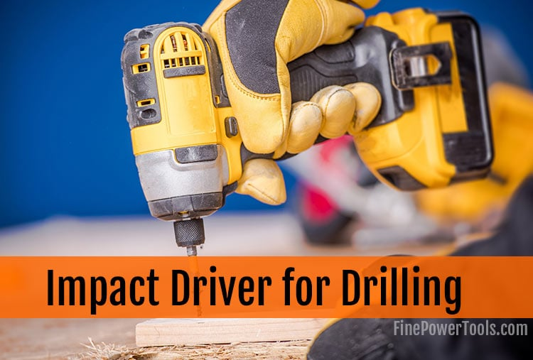 Impact Driver to Drill Hole
