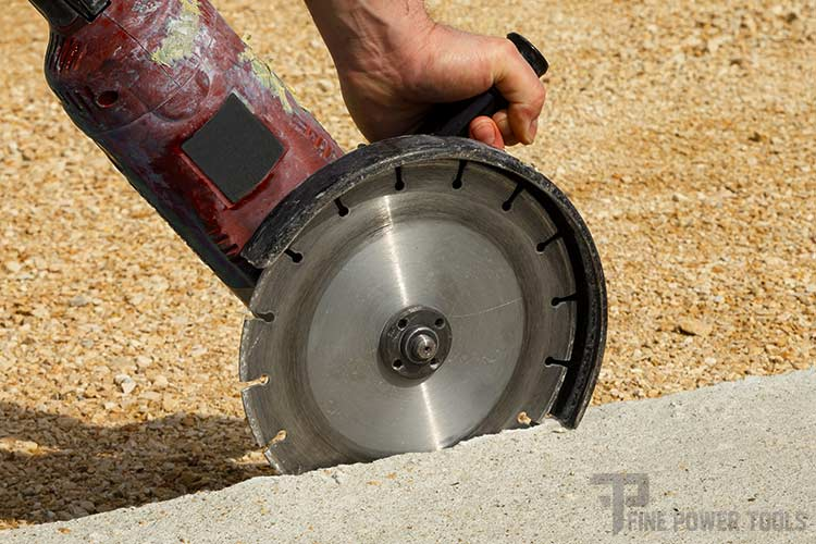 Angle Grinder Masonry cutting