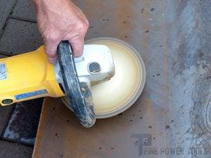Metal Polishing with angle grinder