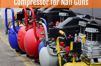 Compressor for Nail Guns