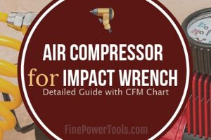 Air Compressor for Impact Wrenches