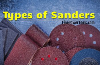 Types of electric Sanders
