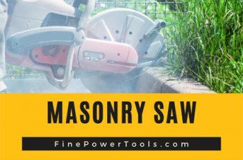 Masonry Saw