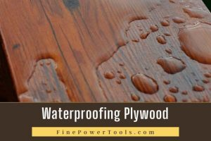 waterproofing plywood
