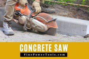 Image: Concrete Saw