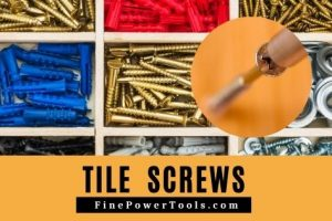 Tile Screws