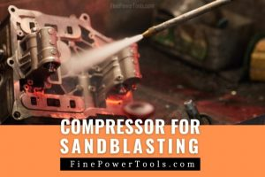 Air Compressor for sandblasting