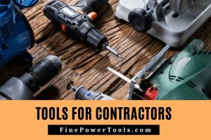 Image: Power tools for Contractors