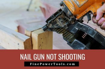 Nail Gun just blows air