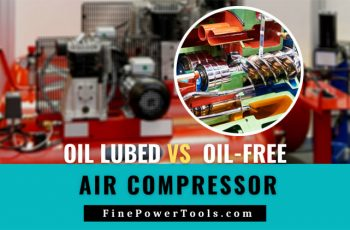 Image: Oil versus oil-free compressor