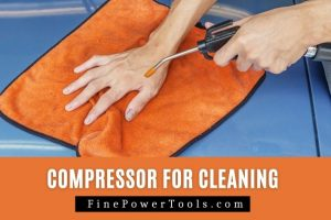 Air Compressor for cleaning