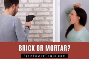 Drill Brick or Mortar