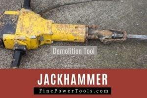 Jackhammer Working and usage