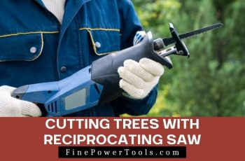 Cutting Trees with Reciprocating Saw