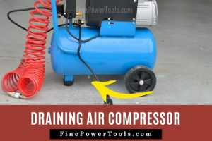 Drain Water from Air Compressor