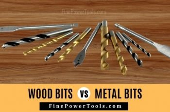 Metal and wood bits