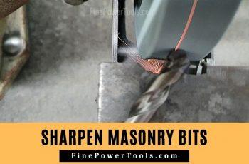 How to Sharpen Masonry Bit