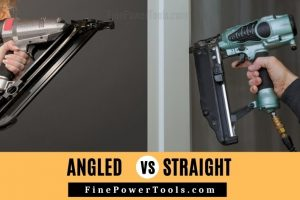 Angled vs Straight Nailer