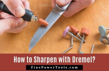 How to Sharpen a Knife with Dremel