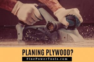 Can you plane plywood and mdf?