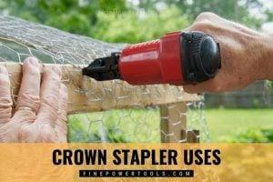 Crown Stapler uses