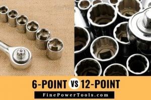 6 Point Socket vs. 12 Point Socket