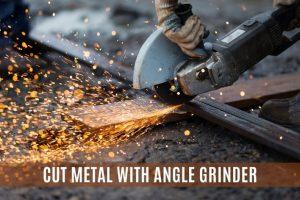Angle Grinder Cutting Metal