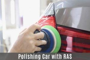 Car Polishing with Random Orbital Sander