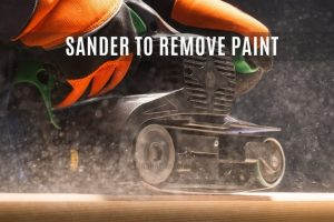 Sander for Paint removal